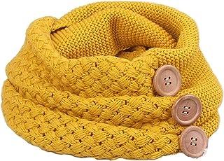 comprar comparacion heekpek Bufanda Mujere Invierno Cálido Cable Knit Cuello de la Capucha del Mantón de la Bufanda