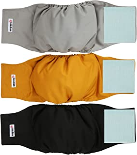 male dog diaper liners