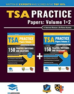 TSA Practice Papers Volumes One & Two: 6 Full Mock Papers, 300 Questions in the style of the TSA, Detailed Worked Solution...