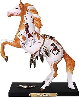 Enesco Trail of Painted Ponies Spirit Horse Stone Resin Figurine, Multicolor