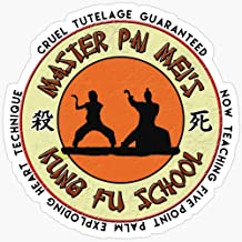 WillettaStore Pai Mei Academy of Cruel Tutelage Stickers (3 Pcs/Pack)
