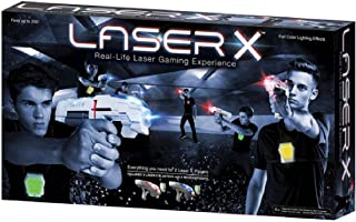 Laser X Pack of 2 Real Life Laser Gaming Guns - 6 Years & Above