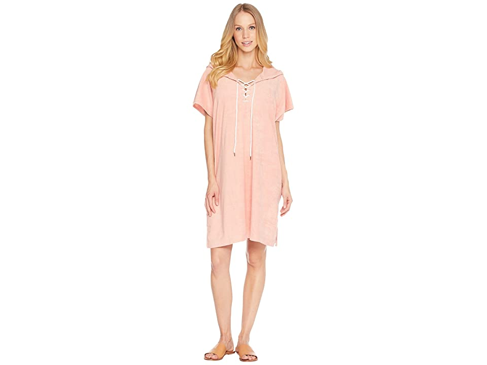 Seafolly Dawn to Dusk Terry Sleeveless Cover-Up (Nude) Women