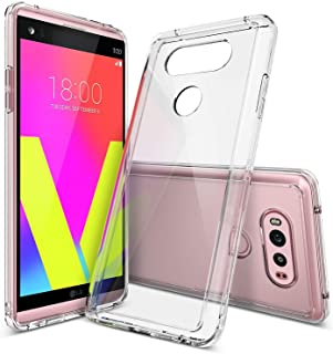 Ringke Fusion Compatible with LG V20 Case Clear PC Back TPU Bumper Drop Protection, Shock Absorption Technology Raised Bezels Protective Cover for LG V 20 2016 - Clear