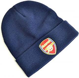 Arsenal FC Crest Knitted Turn Up Hat