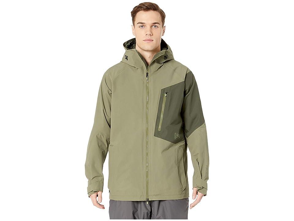 Burton [ak] 2L Cyclic Jacket (Dusty Olive/Forest Night) Men