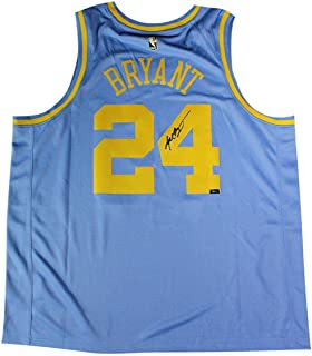 Kobe Bryant Los Angeles Lakers Signed Nike Hardwood Classics Throwback Jersey (Panini Authentic) - Panini Certified