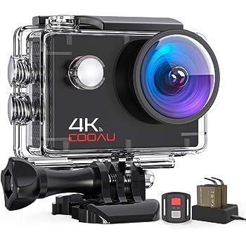 COOAU Action Cam HD 4K 16MP (camera)