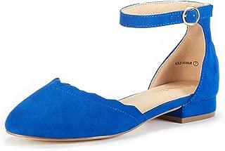 DREAM PAIRS Women's Casual Comfort Ballet Flat Shoes