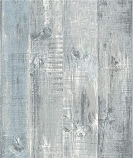 Grace & Gardenia G58305 Gray Weatherd Plank Wallpaper
