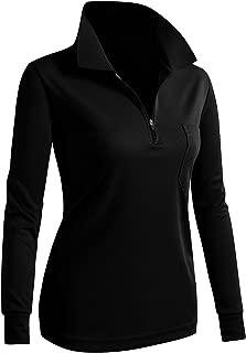 Women's Active Wear POLO Pocket Shirt Long Sleeve