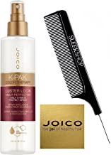 Joico K-PAK Color Therapy LUSTER LOCK MULTI-PERFECTOR Daily Shine & Protect Spray with Manketti Oil (with Sleek Steel Pin Tail Comb) (200 ml/6.7 oz)