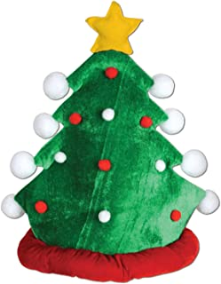 Beistle 1-Pack Plush Christmas Tree Hat