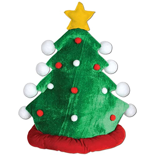 Christmas Tree Hat.Crazy Christmas Hats Amazon Com
