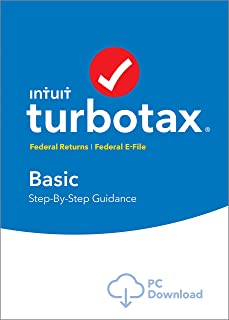 [Old Version] TurboTax Basic 2018 Tax Software [PC Download]