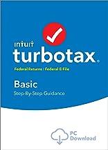 TurboTax Basic 2018 Tax Software [PC Download]