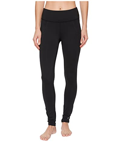 Skirt Sports Triple Pocket Tights (Black) Women