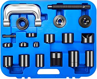 Orion Motor Tech 22PCS Master Ball Joint Press | Upper and Lower Ball Joint Removal Tool | Automotive Mechanic Tool Set