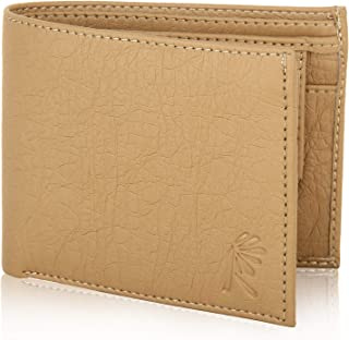 Rosset Beige Wallet for Men, Men's Wallet. Imported Artificial Leather, Durable with More Space, Card Holder, Coin Pocket, Credit, Debit Card, Cash Safe, Perfect for Gift