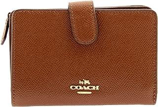 7912b88c28a54 Coach Medium Corner Zip Wallet In Crossgrain Leather