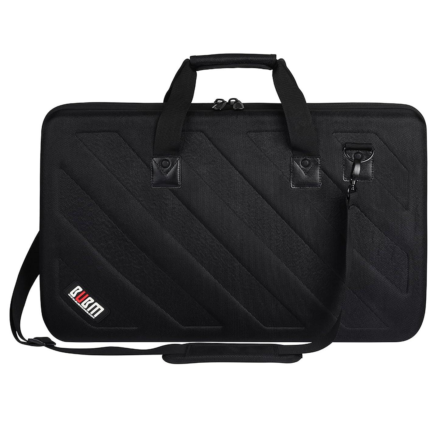 BUBM Lightweight Molded EVA Storage Case, Fits Pioneer DDJ SR SR2 RR Denon MC4000 Numark NVII Mixtrack Pro 3 NV Platinum