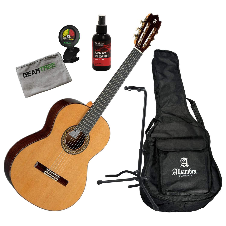 Alhambra 4OP-US Open Pore - Guitarra clásica con bolsa de gigo ...