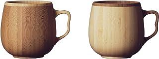 リヴェレット(RIVERET) マグカップ ホワイト ブラウン 350ml カフェオレ マグ ペアセット 食洗機対応 RV-205WB 2個入