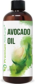 Avocado Oil Natural Carrier Oil – Organic Avocado Oil for Essential Oil Mixing, Massage Body Oil Moisturizer Avocado Oil f...