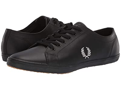 Fred Perry Kingston Leather (Black/1964 Silver) Men
