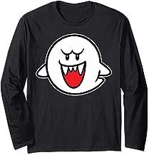Nintendo Super Mario Boo Character Portrait Long Sleeve Tee