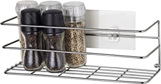 Cabinet and Counter Shelf Organizer, Mounts to Solid Cabinet Doors or Walls, Tall Basket Door Mount Cabinet Organizer,The Cabinet Kitchen Storage Basket