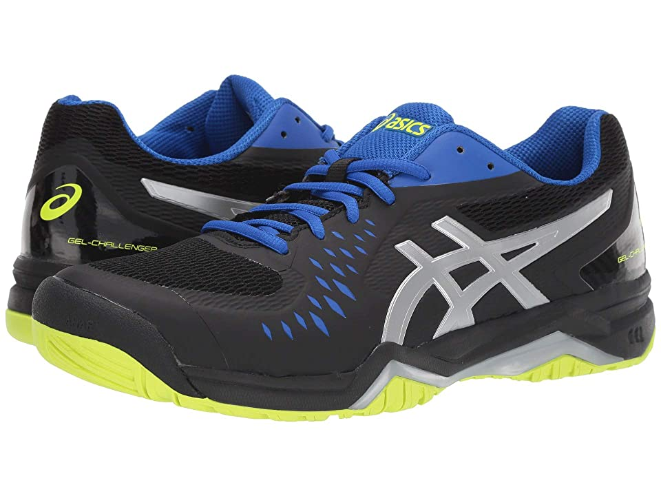 90682b09dec ASICS Gel-Challenger 12 (Black/Silver) Men's Tennis Shoes