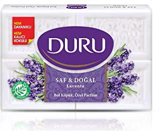 Duru Pure and Natural Bar Soap, Lavender, 24.69 Ounce