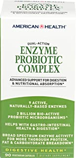 American Health, Enzyme Probiotic, 90 Count