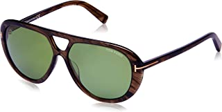 Tom Ford Men's Marley - FT0510 Aviator Sunglasses Brown 59 mm