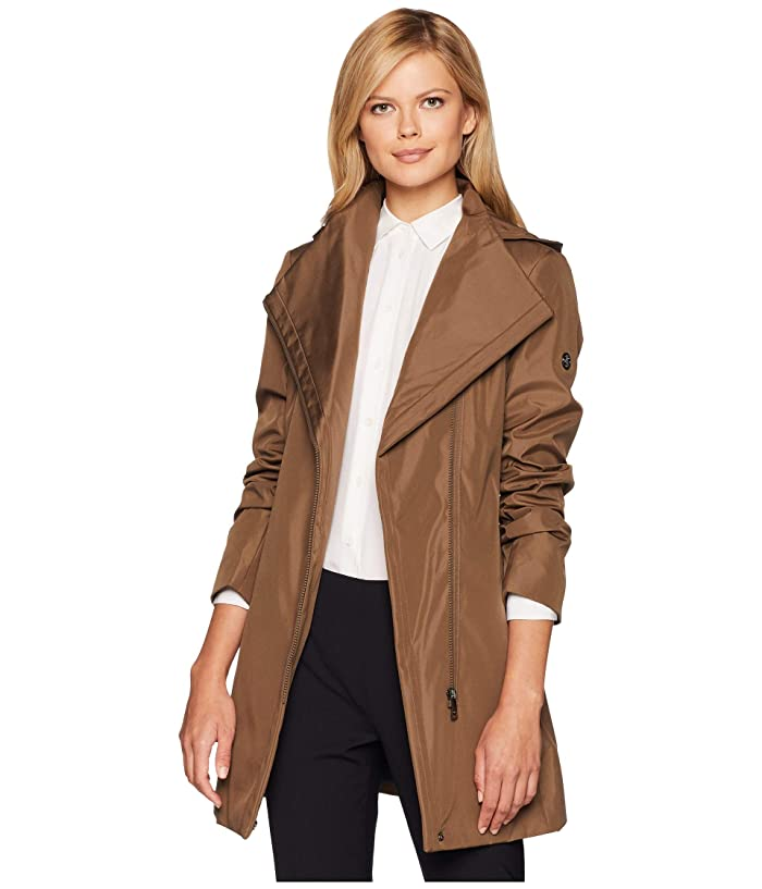 926ffc739307 Calvin Klein Hooded Raincoat with Belt at 6pm
