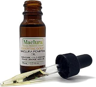 Maclura Pomifera Essential Gold Oil, 100% Pure Cold Pressed Osage Orange Seed Oil, 15 ml