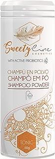 SWEETY LINE - Champú en polvoTonic - 100% Natural - Vegano - Enriquecido con probióticos activos - 50gr