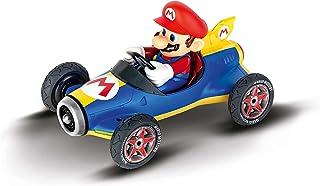 Carrera RC 370181066 Nintendo Mario Kart Mach 8 │ Fjärrstyrd bil från 6 år inomhus och utomhus │ Mini Mario Kart att ta me...