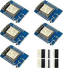 IZOKEE Development Board for ESP8266 ESP-12F 4M Bytes WLAN WiFi Internet Development Board Compatible with Arduino (Pack o...