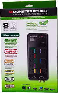 Monster Core Power® 800G - 8 Outlet Powercenter - 2160 Joules