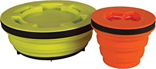 Sea to Summit X-Seal Go Set Collapsible Food Storage Camping Bowl with Airtight Lid