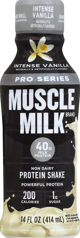 Alternative dealer Muscle Milk Pro Series Mega Vanilla ! Super beauty product restock quality top! Shake 14 Protein Intense
