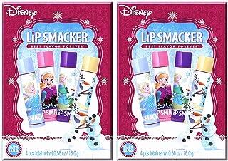 Lip Smacker Story Book Box Gift Set, Disney Frozen, 4 Count (2 Pack)