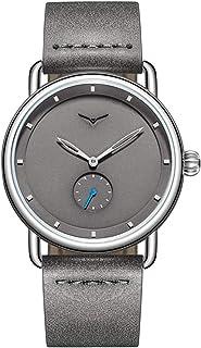 ساعة Andoer ON3805 للرجال كوارتز بسوار جلدي قابل للتعديل عصري متعددة الوظائف 3ATM ساعات