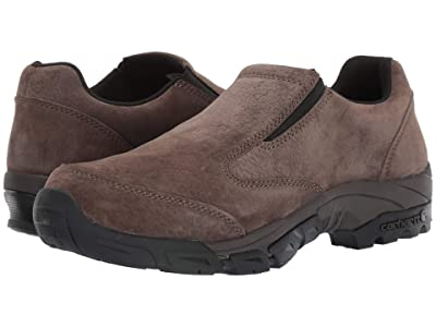 Carhartt Lightweight Non-Safety Toe Slip-On Work Shoe (Brown Suede) Men