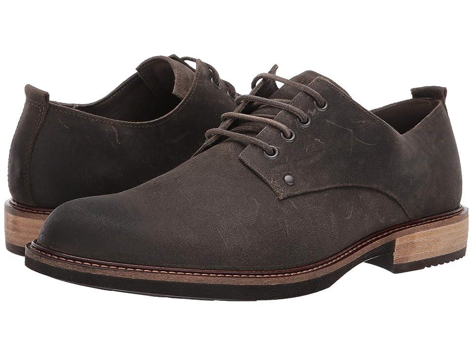 ECCO Kenton Artisan Plain Toe Tie (Tarmac) Men