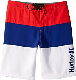 413d6984b89a8 Hurley Kids. Overspray Boardshorts (Big Kids). $38.00. Speed Red