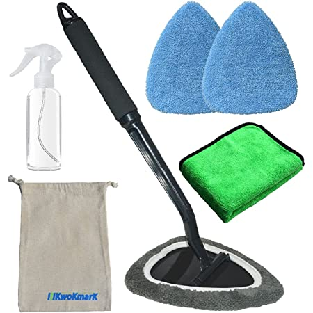 1x Windshield Clean Cloth Cover Pad Portable Soft Car Window Glass Cleaner Tool