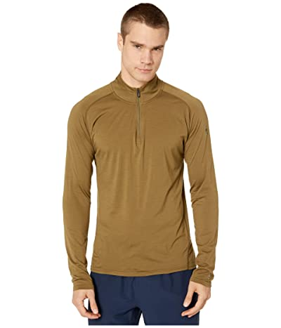 Smartwool Merino 150 Base Layer 1/4 Zip (Military Olive) Men